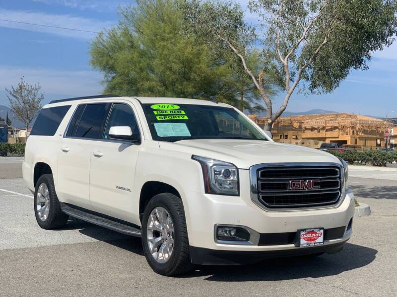 2015 GMC Yukon XL for sale at Esquivel Auto Depot in Rialto CA