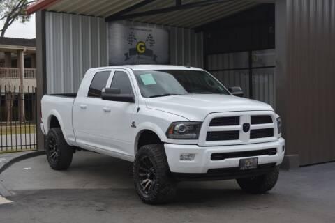 2016 RAM Ram Pickup 2500 for sale at G MOTORS in Houston TX