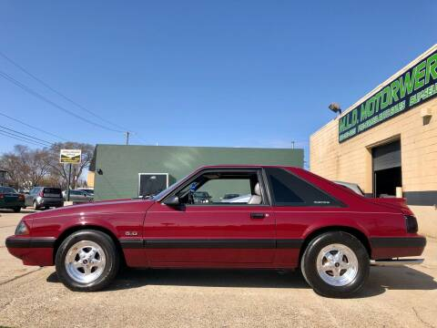 1989 Ford Mustang for sale at MLD Motorwerks Pre-Owned Auto Sales - MLD Motorwerks, LLC in Eastpointe MI