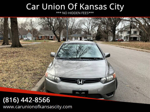 2006 Honda Civic for sale at Car Union Of Kansas City in Kansas City MO