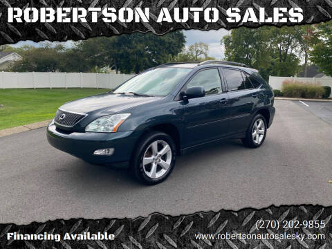 2004 Lexus RX 330 for sale at ROBERTSON AUTO SALES in Bowling Green KY
