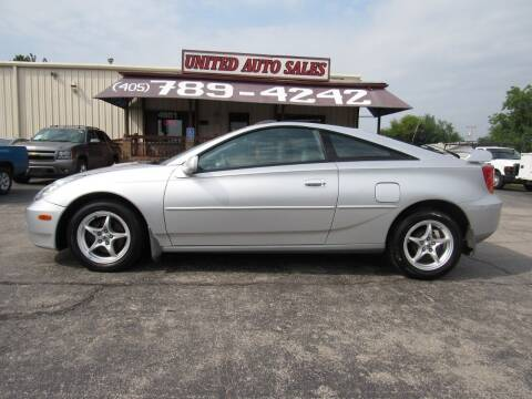 2001 Toyota Celica for sale at United Auto Sales in Oklahoma City OK