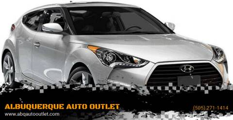 2015 Hyundai Veloster for sale at ALBUQUERQUE AUTO OUTLET in Albuquerque NM