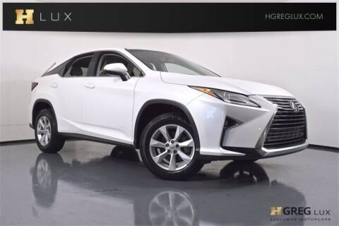 2016 Lexus RX 350 for sale at HGREG LUX EXCLUSIVE MOTORCARS in Pompano Beach FL