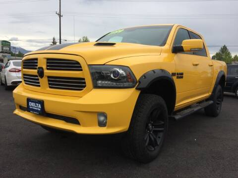 2016 RAM Ram Pickup 1500 for sale at Delta Car Connection LLC in Anchorage AK