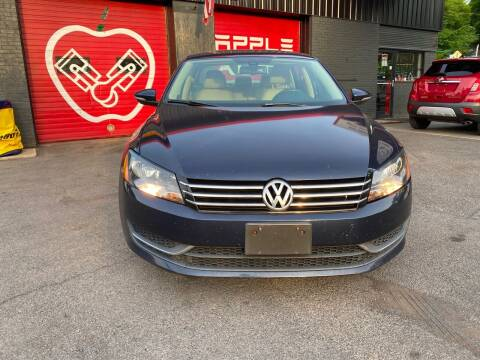 2012 Volkswagen Passat for sale at Apple Auto Sales Inc in Camillus NY