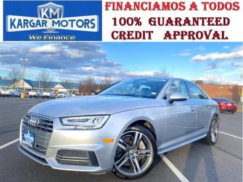 2018 Audi A4 for sale at Kargar Motors of Manassas in Manassas VA