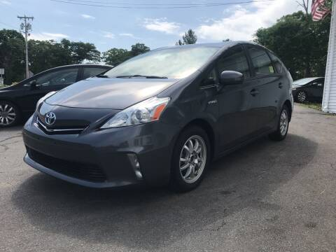 2013 Toyota Prius v for sale at SOUTH SHORE AUTO GALLERY, INC. in Abington MA