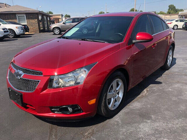 2012 Chevrolet Cruze for sale at Kasterke Auto Mart Inc in Shawnee OK