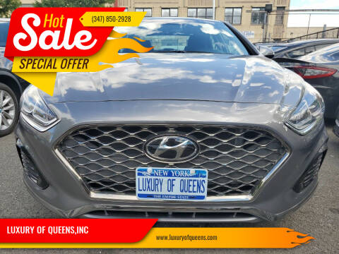 2019 Hyundai Sonata for sale at LUXURY OF QUEENS,INC in Long Island City NY