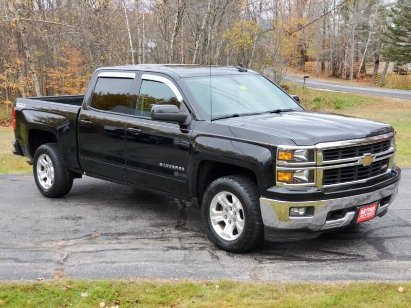 2015 Chevrolet Silverado 1500 for sale at Bethel Auto Sales in Bethel ME