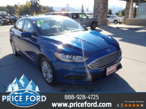 2017 Ford Fusion Hybrid for sale at Price Ford Lincoln in Port Angeles WA