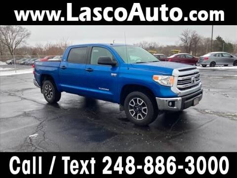 2017 Toyota Tundra for sale at Lasco of Waterford in Waterford MI