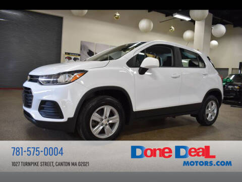 2017 Chevrolet Trax for sale at DONE DEAL MOTORS in Canton MA