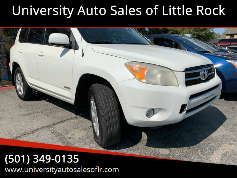 2006 Toyota RAV4 for sale at University Auto Sales of Little Rock in Little Rock AR