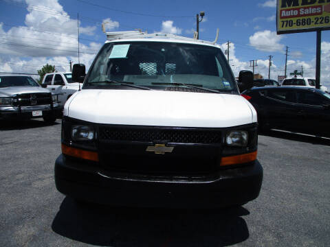 2013 Chevrolet Express Cargo for sale at LOS PAISANOS AUTO & TRUCK SALES LLC in Peachtree Corners GA