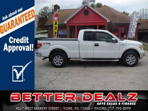 2013 Ford F-150 for sale at Better Dealz Auto Sales & Finance in York PA