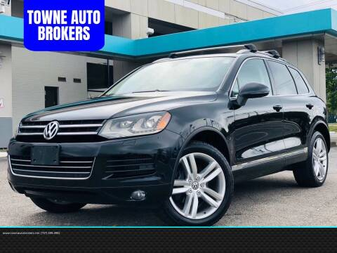 2013 Volkswagen Touareg for sale at TOWNE AUTO BROKERS in Virginia Beach VA