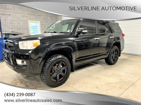 2012 Toyota 4Runner for sale at Silverline Automotive in Lynchburg VA