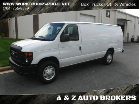 2014 Ford E-Series Cargo for sale at A & Z AUTO BROKERS in Charlotte NC