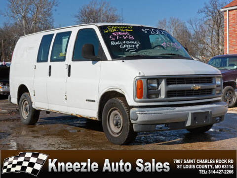 1997 Chevrolet Chevy Van for sale at Kneezle Auto Sales in Saint Louis MO