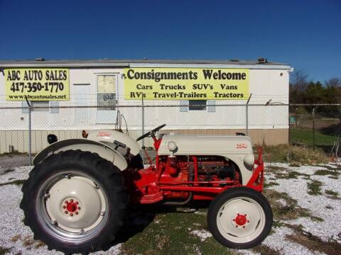 1949 Ford Tractor Gas 8N for sale at ABC Auto Sales in Rogersville MO