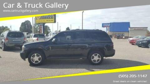 2009 Chevrolet TrailBlazer for sale at Car & Truck Gallery in Albuquerque NM