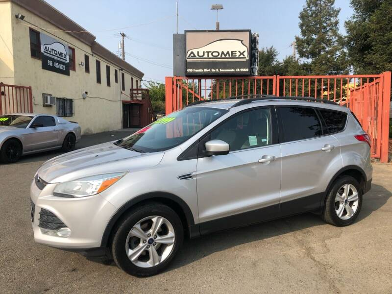 2016 Ford Escape for sale at AUTOMEX in Sacramento CA
