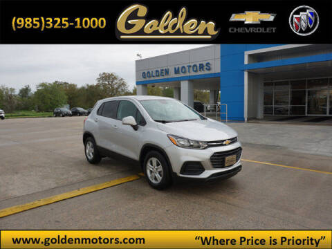 2020 Chevrolet Trax for sale at GOLDEN MOTORS in Cut Off LA
