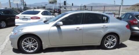 2008 Infiniti G35 for sale at Luxor Motors Inc in Pacoima CA