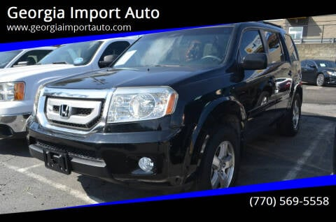 2009 Honda Pilot for sale at Georgia Import Auto in Alpharetta GA
