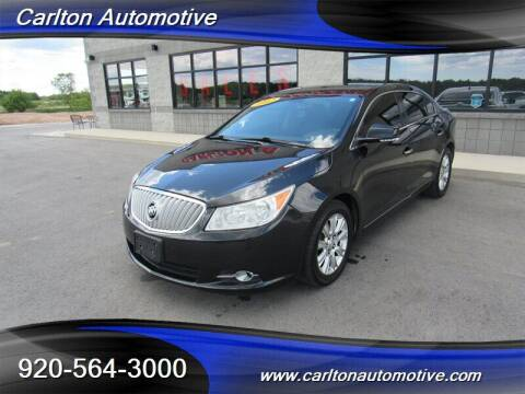 2012 Buick LaCrosse for sale at Carlton Automotive Inc in Oostburg WI