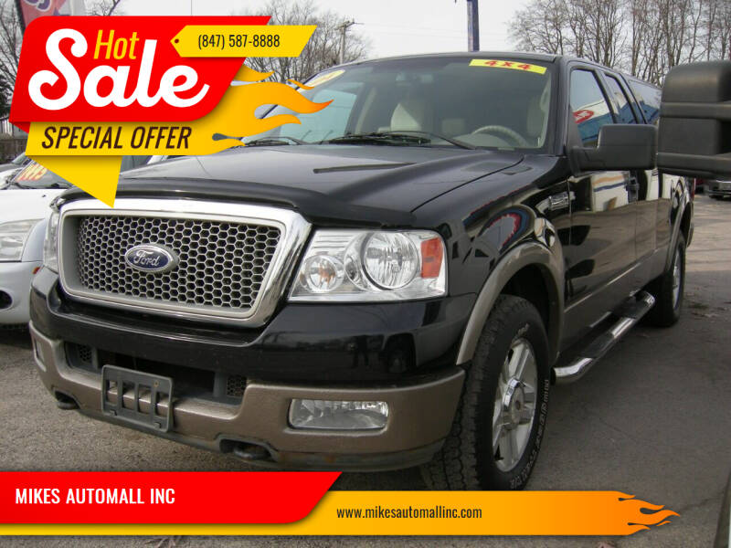 2004 Ford F-150 for sale at MIKES AUTOMALL INC in Ingleside IL
