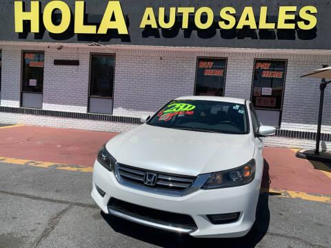 2014 Honda Accord for sale at HOLA AUTO SALES CHAMBLEE- BUY HERE PAY HERE - in Atlanta GA