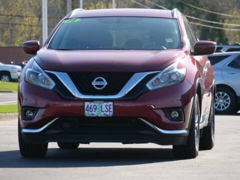 2018 Nissan Murano for sale at CLINT NEWELL USED CARS in Roseburg OR