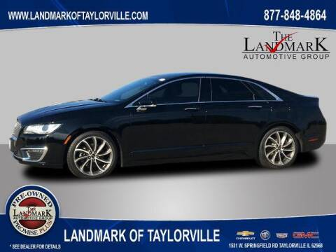 2018 Lincoln MKZ for sale at LANDMARK OF TAYLORVILLE in Taylorville IL