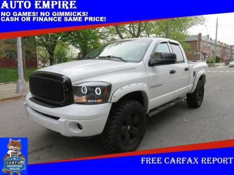 2004 Dodge Ram Pickup 1500 for sale at Auto Empire in Brooklyn NY