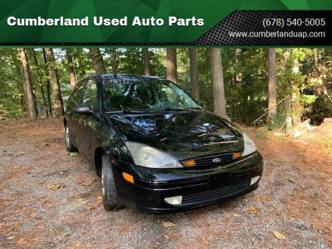 2003 Ford Focus for sale at Cumberland Used Auto Parts in Marietta GA