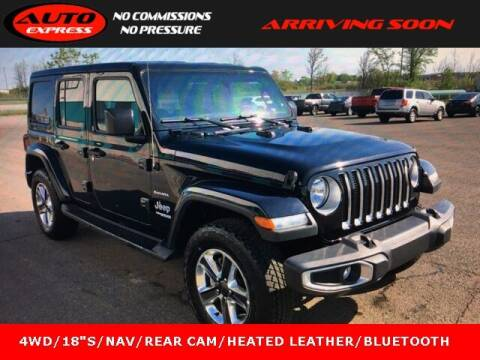 2020 Jeep Wrangler Unlimited for sale at Auto Express in Lafayette IN