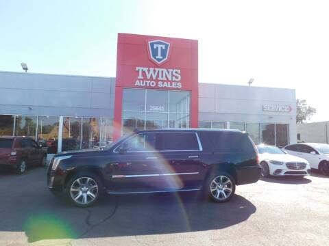 2016 Cadillac Escalade ESV for sale at Twins Auto Sales Inc Redford 1 in Redford MI