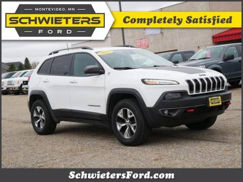 2017 Jeep Cherokee for sale at Schwieters Ford of Montevideo in Montevideo MN
