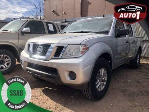 2015 Nissan Frontier for sale at Street Smart Auto Brokers in Colorado Springs CO