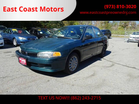 1997 Mitsubishi Mirage for sale at East Coast Motors in Lake Hopatcong NJ
