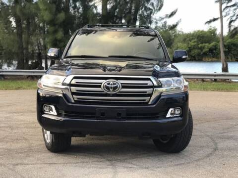 2016 Toyota Land Cruiser for sale at Exclusive Impex Inc in Davie FL