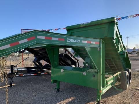 "2021 DELCO  - Dump 83""x12' -Tarp - 3 for sale at LJD Sales in Lampasas TX"