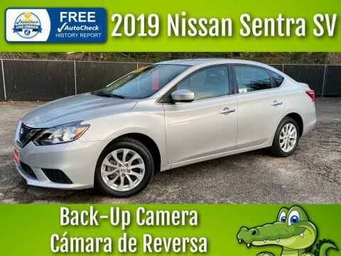 2019 Nissan Sentra for sale at LIQUIDATORS in Houston TX