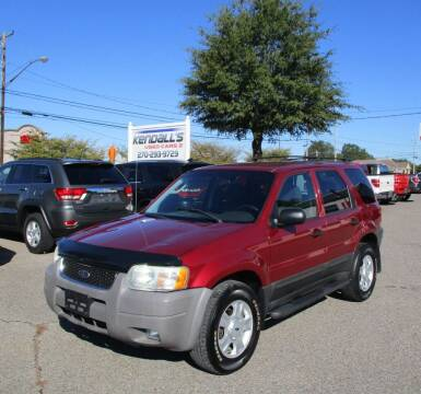 2003 Ford Escape for sale at Kendall's Used Cars 2 in Murray KY