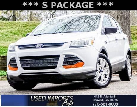 2014 Ford Escape for sale at Used Imports Auto in Roswell GA