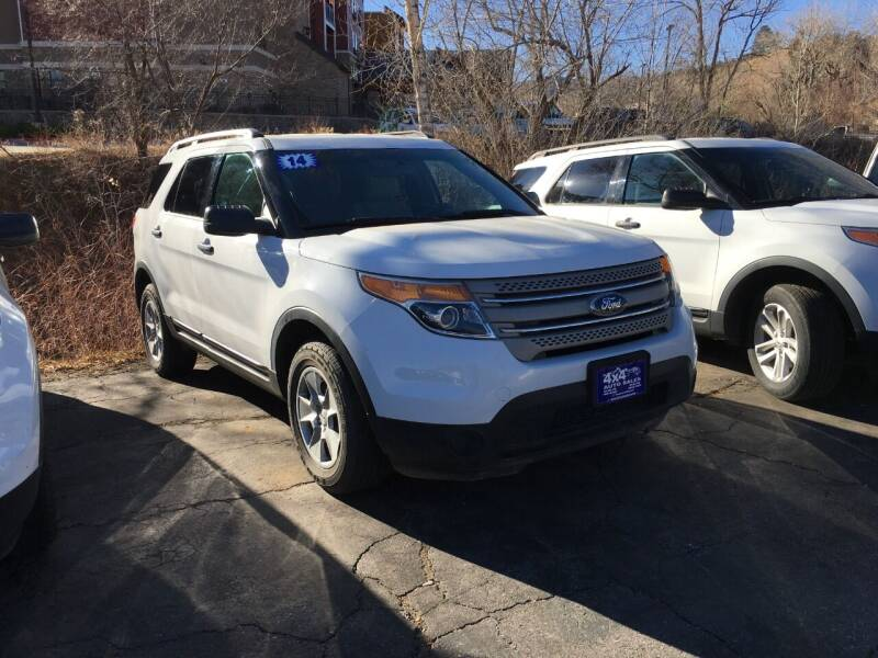 2014 Ford Explorer for sale at 4X4 Auto in Cortez CO