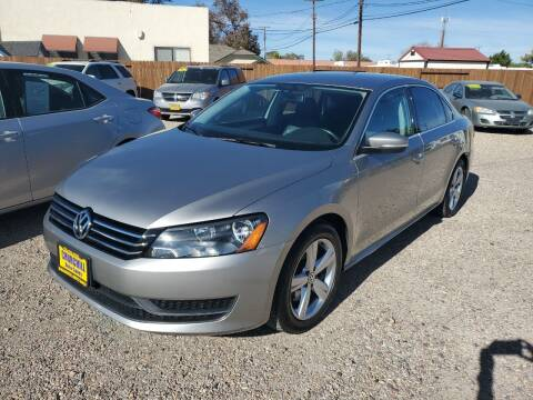 2012 Volkswagen Passat for sale at CHURCHILL AUTO SALES in Fallon NV
